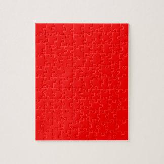 Rot-Side-orange Gewohnheit gefärbt Puzzle