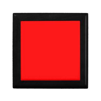 Rot-Side-orange Gewohnheit gefärbt Schmuckschachtel