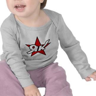 Rot-Stern-Logo-T - Shirt der Yak-52