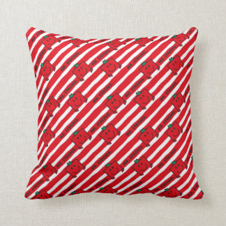 Rot-Streifen-Muster Herr-Strong | Kissen
