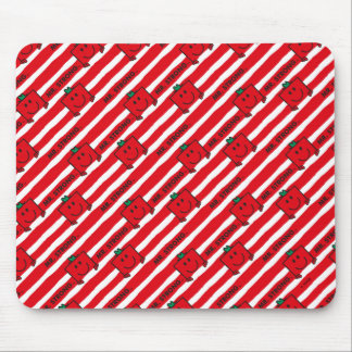 Rot-Streifen-Muster Herr-Strong | Mousepads