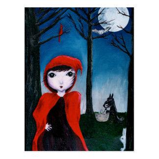 Rot und der Muffindieb 1 Postkarte