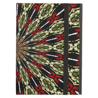 Rot und GoldBuntglas-Fenster-Kaleidoskop