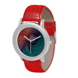 Rot und Grün Handuhr