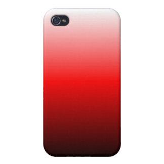 Rot verblassen Speck-Kasten iPhone 4 Etui