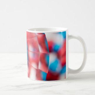 Rot, weiß und Blau! Kaffeetasse