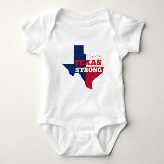 """Rot-, weißes u. Blaues""""Texas stark """" Baby Strampler"""