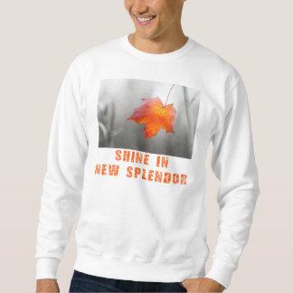 Rotahorn-Blatt - Glanz in der neuen Pracht Sweatshirt