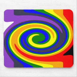 Rotation bewegt Regenbogen von Farben, ROYGBIV Mousepad