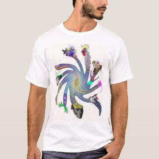 Rotations-Blume T-Shirt