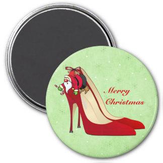 Rote Absatz-Schuhe/Sanktelf/-magnet Kühlschrankmagnet