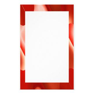 rote abstrakte Grenze Briefpapier