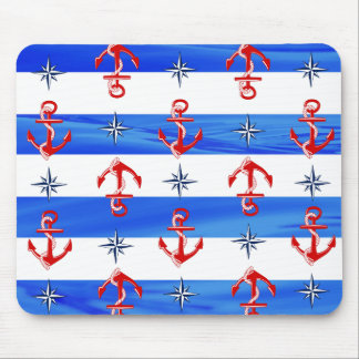 Rote Anker Mousepads