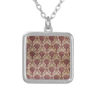 Rote antike Tapete Amuletten
