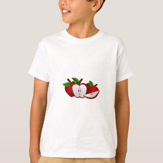 Rote Äpfel T-Shirt
