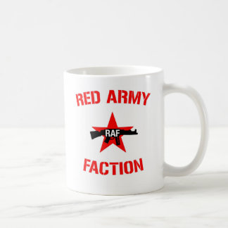 Rote Armee-Partei mit rote Armee-Partei-Logo Kaffeetasse