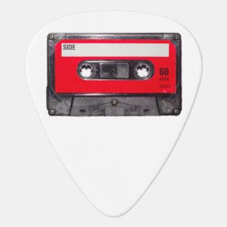 Rote Aufkleber-Kassette Plektrum