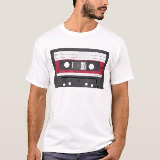 Rote Aufkleber Vertrags-Kassette T-Shirt