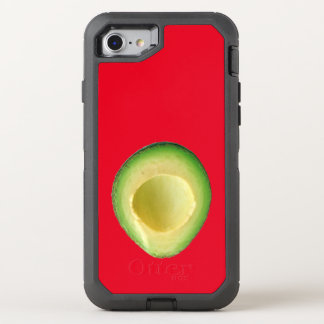 Rote Avocado-Liebe 4Linda OtterBox Defender iPhone 8/7 Hülle