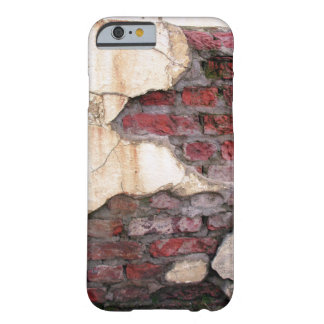 Rote Backsteine iPhone 6/6s Fall Barely There iPhone 6 Hülle