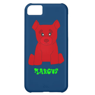 Rote Bär iPhone 5 Abdeckung Schablone iPhone 5C Hülle