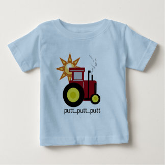 Rote Bauernhof-Traktor-T - Shirts und Geschenke