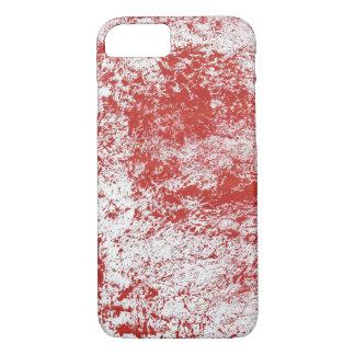 Rote Beschaffenheit iPhone 7 Hülle