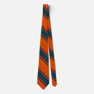 Rote blaue Linien Party durch Lagerhalter Individuelle Krawatte