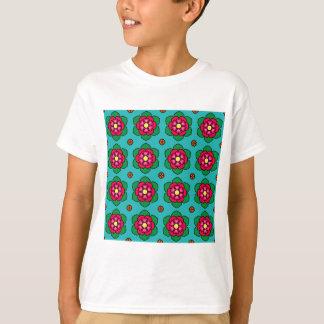 Rote Blumen T-Shirt