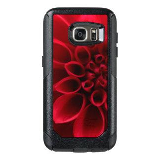 Rote Blüten-Blume OtterBox Samsung Galaxy S7 Hülle