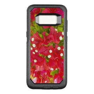 Rote Bouganvilla-Blumen OtterBox Commuter Samsung Galaxy S8 Hülle