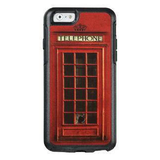 Rote britische Telefonzelle OtterBox iPhone 6/6s Hülle
