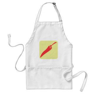 Rote Chili-Pfeffer-Gemüse-Ikone