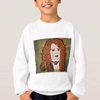 Rote Dame Sweatshirt