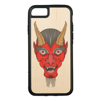 Rote Devill Illustration Carved iPhone 8/7 Hülle