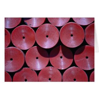 Rote Disc Karte