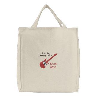 Rote elektrische Gitarren-kundengerechte Taschen-T