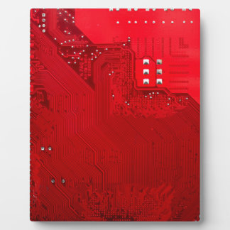 rote elektronische Schaltung board.JPG Fotoplatte