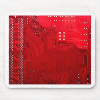 rote elektronische Schaltung board.JPG Mousepad