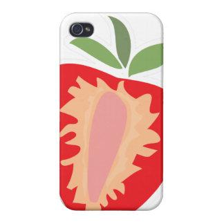 Rote Erdbeere iPhone 4 Schutzhülle