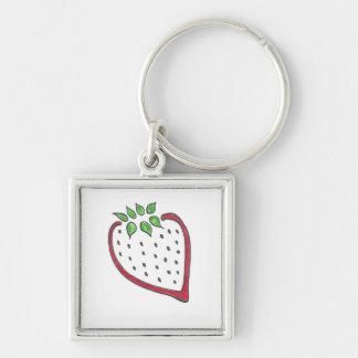 Rote Erdbeere Keychain Schlüsselanhänger