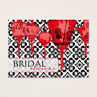 Rote Erinnerung Notecard der Laternen-BRS Visitenkarte
