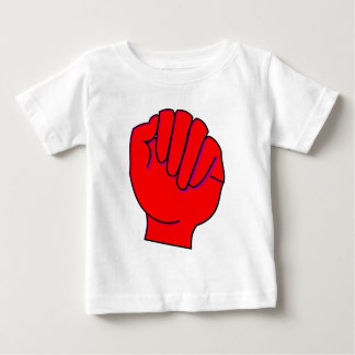 rote Faust red fist Baby T-shirt