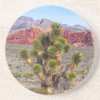 Rote Felsen-Schlucht Nevada Getränkeuntersetzer