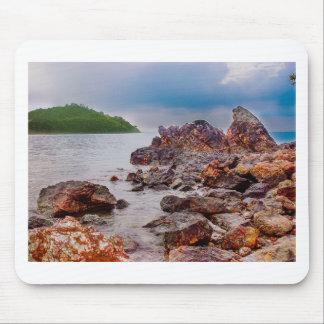 rote Felsen von Fidschi Mauspads