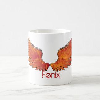 Rote Flügel Kaffeetasse