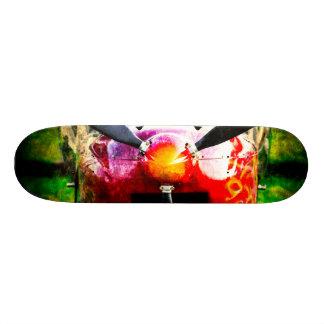 Rote Flugzeuge - klein aber heftig Personalisiertes Skateboarddeck