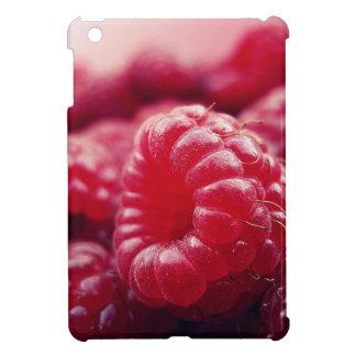 rote Frucht der Beeren frische gesunde Himbeeren iPad Mini Hülle