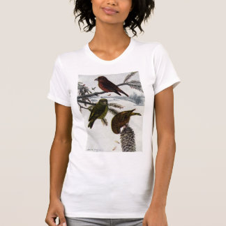 Rote Gegenwechsel und Pinecone T-Shirt