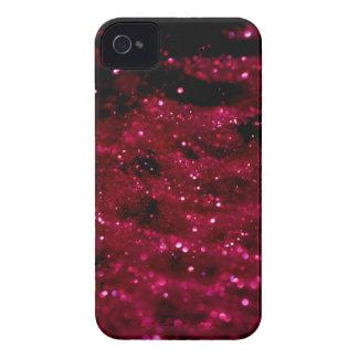 Rote Glitzer-Abdeckung iPhone 4 Hülle